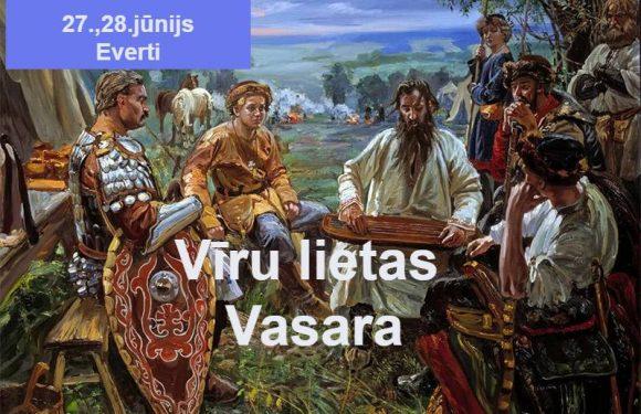 Laika Rata pietura Evertos 2020 piedāvā citas brīvdienas VĪRU LIETAS / VASARA 27/28.06