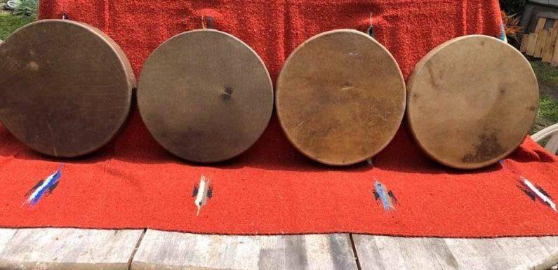 Šamanisko bungu darināšana pēc indiāņu tradīcijām. 17.,18. oktobris.